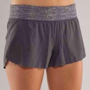 Lululemon laser cut Weightless shorts